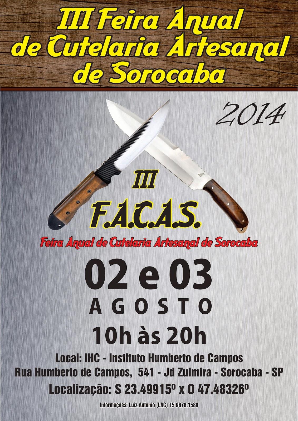 feira de cutelaria - cartaz 2014